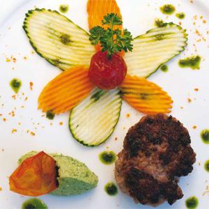 Hamburger di bufaletto di Amaseno con ricotta di bufala